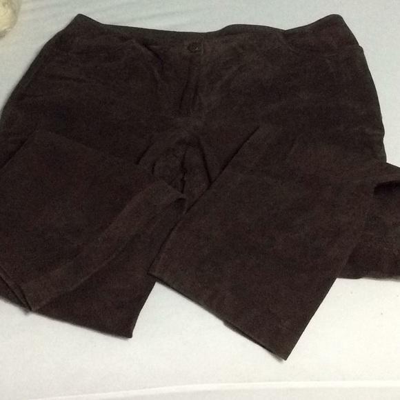 Venezia Pants - Genuine suede leather pants size 16